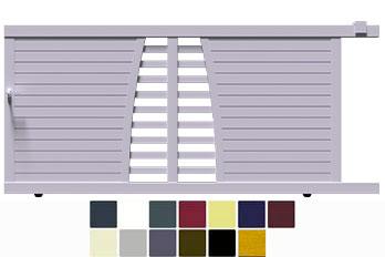 Venez profiter de nos offres sur les portails coulissants biki design